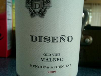 Diseno Old Vine Malbec Argentine 2007