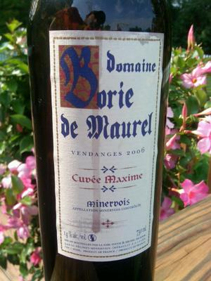 Domaine Borie de Maurel Cuvee Maxime